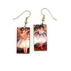 Dunitz & Co Ballerina Art Dangle Earrings