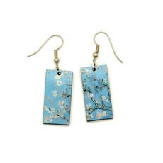 Dunitz & Co Almond Blossom Art Dangle Earrings