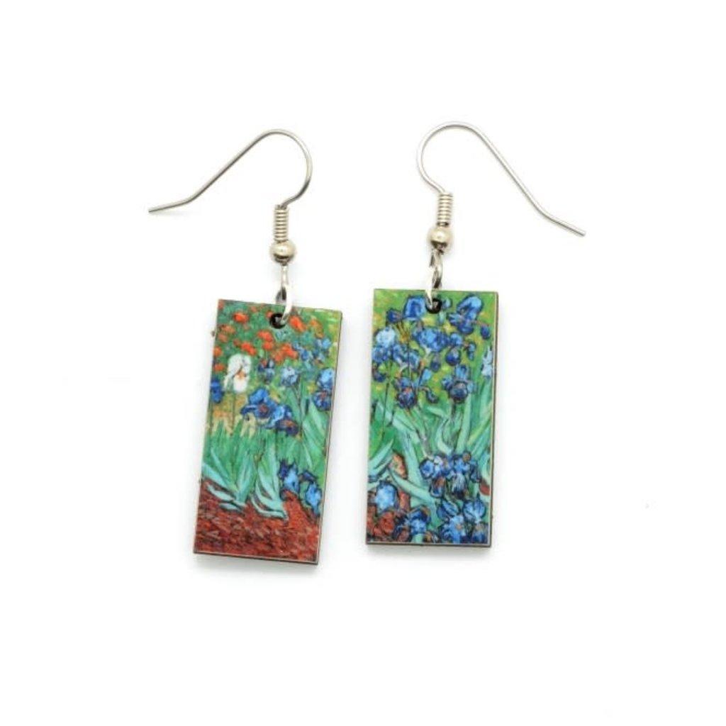 Dunitz & Co Iris Art Dangle Earrings