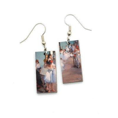 Dunitz & Co Dance Class Art Dangle Earrings