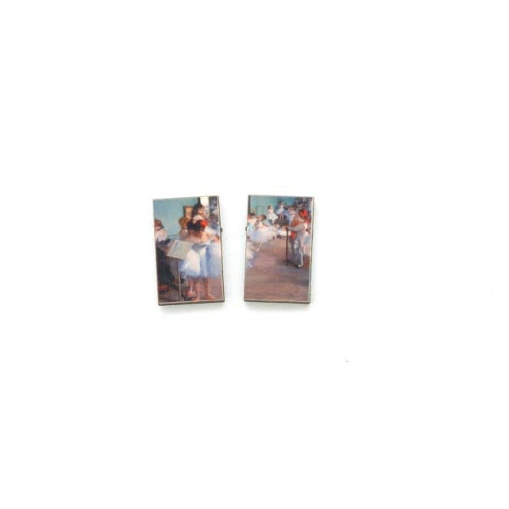 Dunitz & Co Dance Class Art Stud Earrings