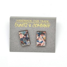 Dunitz & Co Boating Party Art Stud Earrings