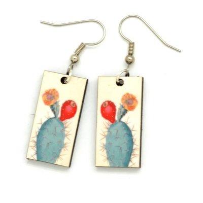 Dunitz & Co Cactus Botanical Dangle Earrings