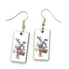 Dunitz & Co Hyacinth Botanical Dangle Earrings