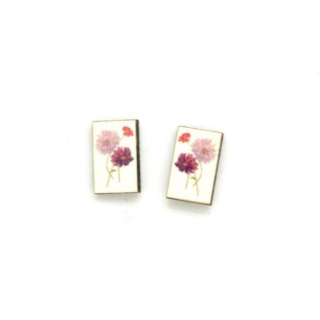 Dunitz & Co Dahlia Botanical Stud Earrings