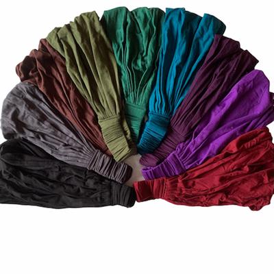 Unique Batik Thai Solid Color Faux Headwrap