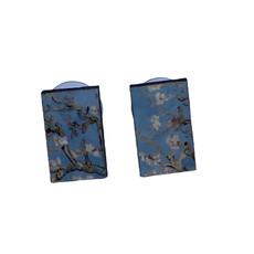 Dunitz & Co Almond Blossom Art Stud Earrings