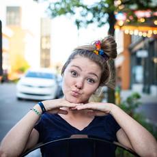 Lucia's Imports Rainbow Hair Scrunchie