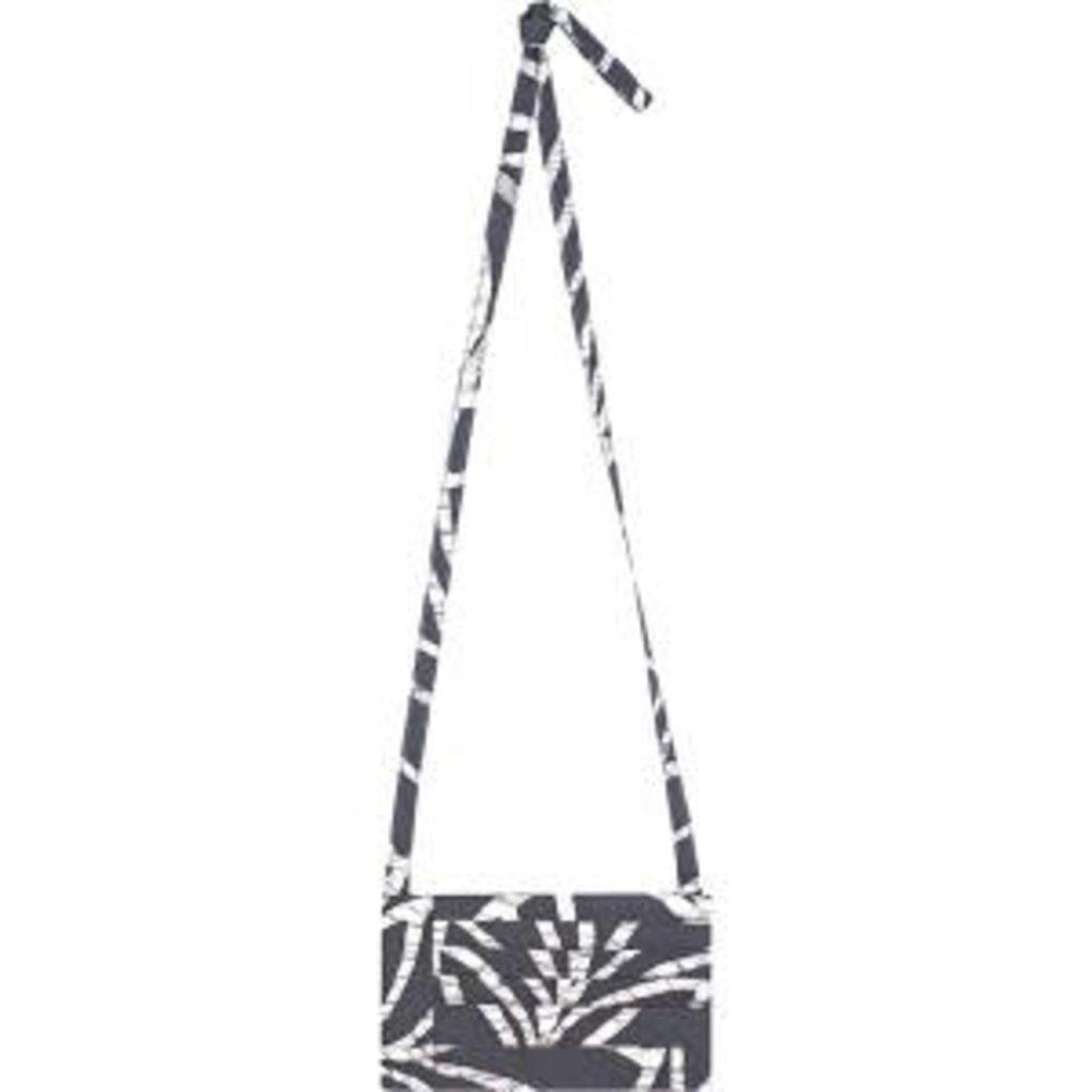 Global Mamas Charcoal Canopy Batik Clutch Purse