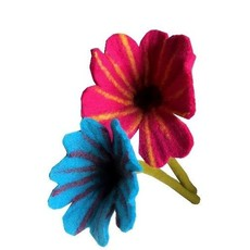 Ganesh Himal Felted Wool Large Centerpiece Flower