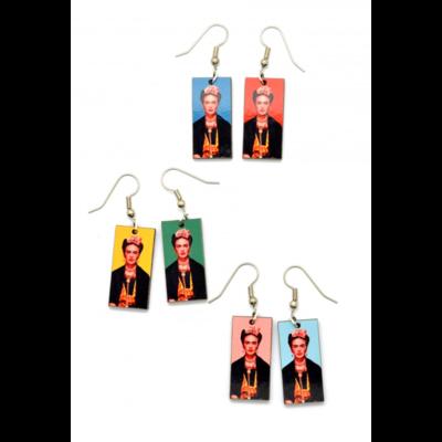 Dunitz & Co Frida Kahlo Dangle Earrings
