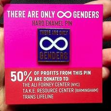 Microcosm Infinity Genders Hard  Enamel Pin