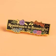 Microcosm Resistance is Beautiful Hard Enamel Pin
