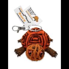 Kamibashi Boxy Turtle String Doll Keychain