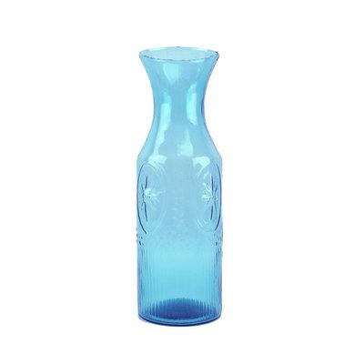Serrv Coastal Blue Tropical Punch Decanter/Vase