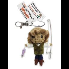 Kamibashi Fishing Wade String Doll Keychain