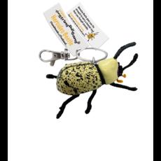 Kamibashi Hercules Beetle String Doll Keychain