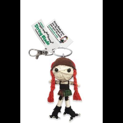 Kamibashi String Blade String Doll Keychain