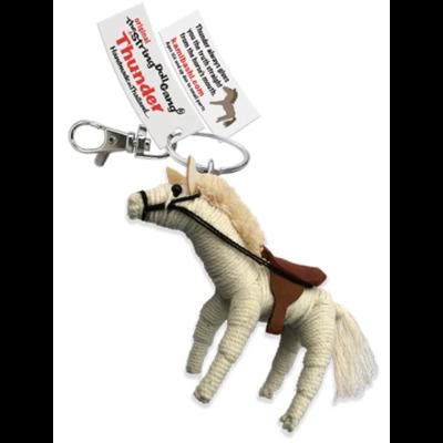 Kamibashi Thunder Horse String Doll Keychain