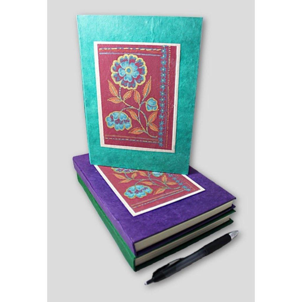 Ganesh Himal Tibetan Flower Lokta Paper Journal