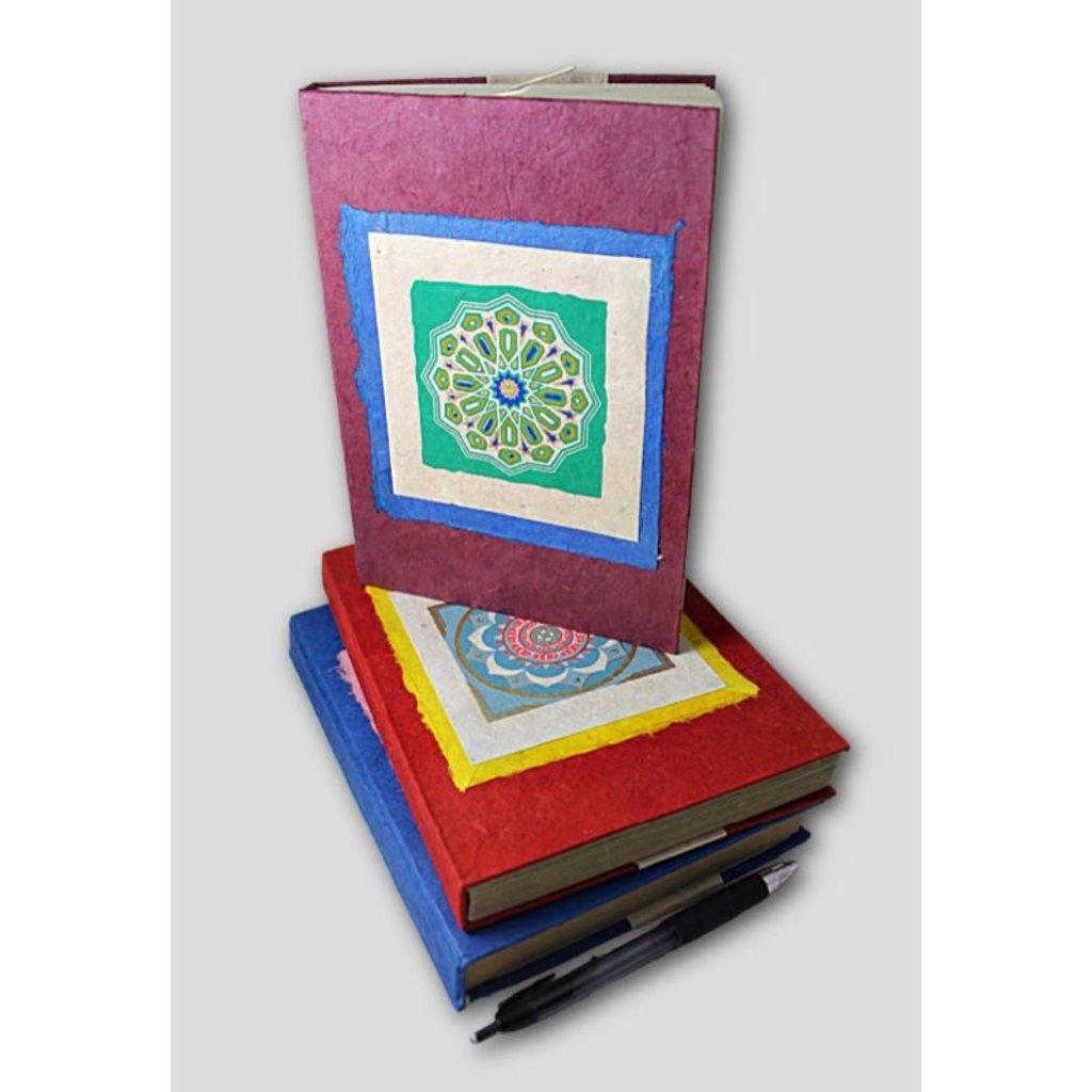 Ganesh Himal Tibetan Mandala Lokta Paper Journal