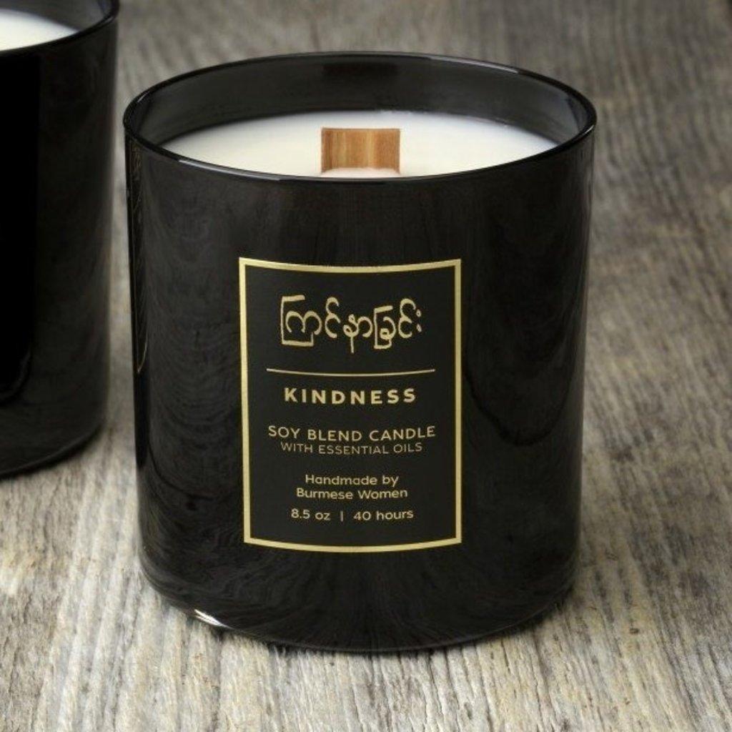 Prosperity Candle Burmese 8oz Candle: Kindness Orange Blossom