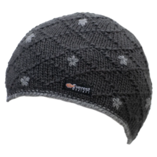 Everest Designs Dolma Fleece Lined Wool Charcoal Beanie Hat