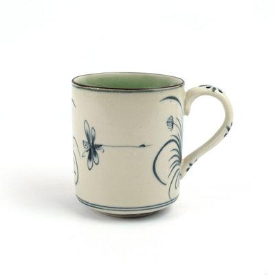 Serrv Dragonfly Ceramic Tea Mug