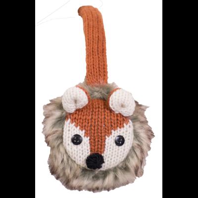 Everest Designs Animal Faux Fur Lined Wool Fox Earmuff