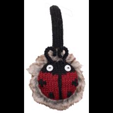 Everest Designs Animal Faux Fur Lined Wool Ladybug Earmuff