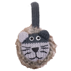 Everest Designs Animal Faux Fur Lined Wool Lion Earmuff