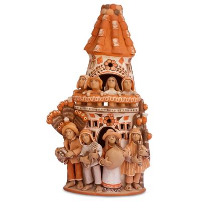 Lucuma Medium Ceramic Celebration Tower