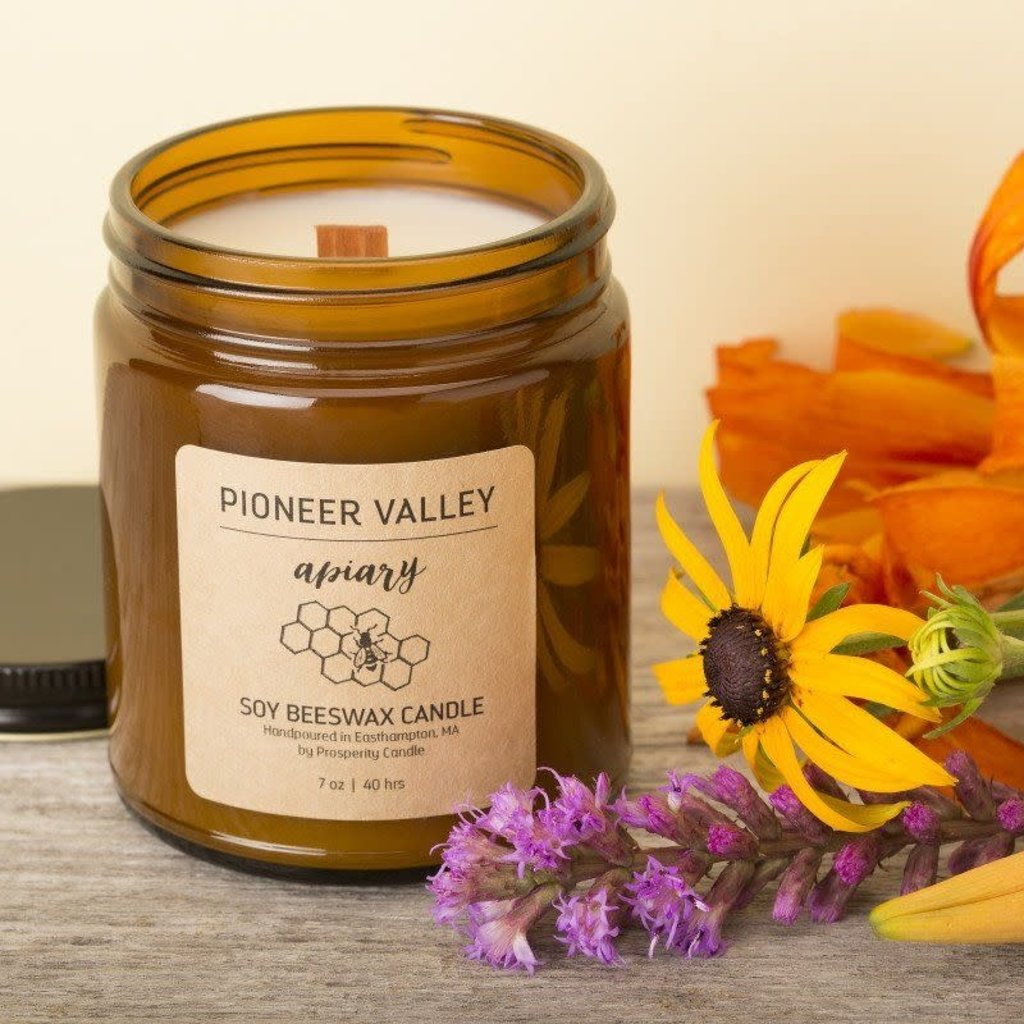 Prosperity Candle Pioneer Valley 7oz Candle: Apiary