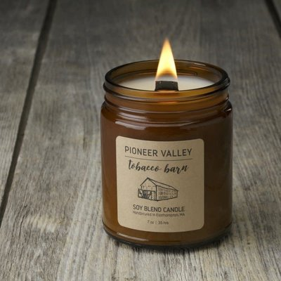 Prosperity Candle Pioneer Valley 7oz Candle: Tobacco Barn