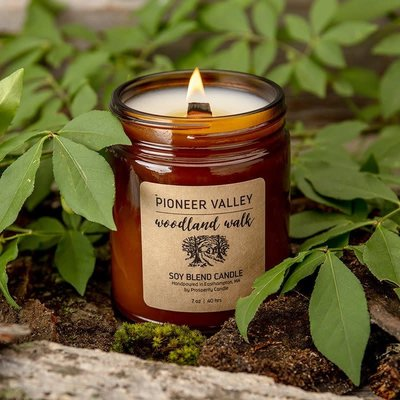 Prosperity Candle Pioneer Valley 7oz Candle: Woodland Walk