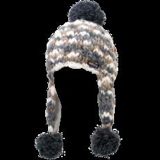 Everest Designs Puja Fleece Lined Wool Natural Earflap Hat