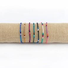 Lucia's Imports Round Silk Friendship Bracelet