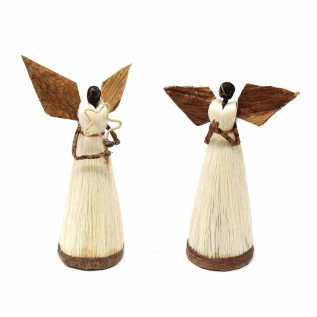 Global Crafts Standing Sisal Devotional Angel