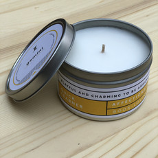 Prosperity Candle Zodiac 6oz Candle: Gemini Silky White Amber