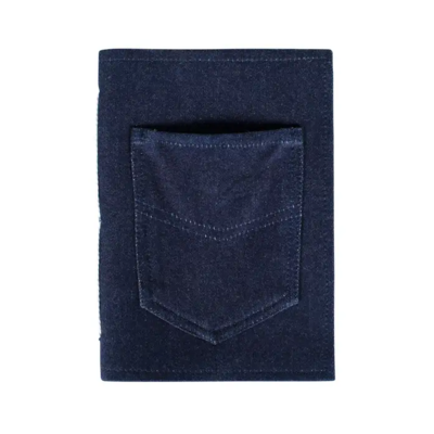 Ten Thousand Villages Blue Jean Pocket Journal