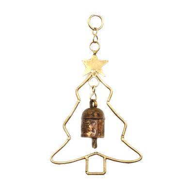 Mira Fair Trade Christmas Tree Bell Chime