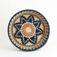 Mayan Hands Isabela Pine Needle and Wild Grass Basket