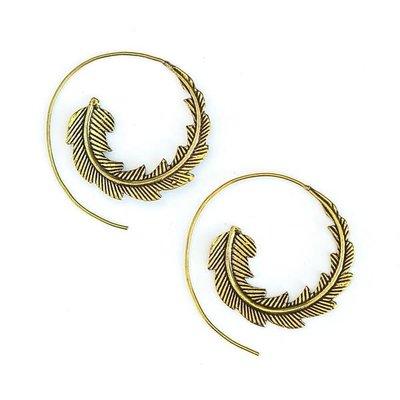 Fair Anita Phoenix Earring Brass