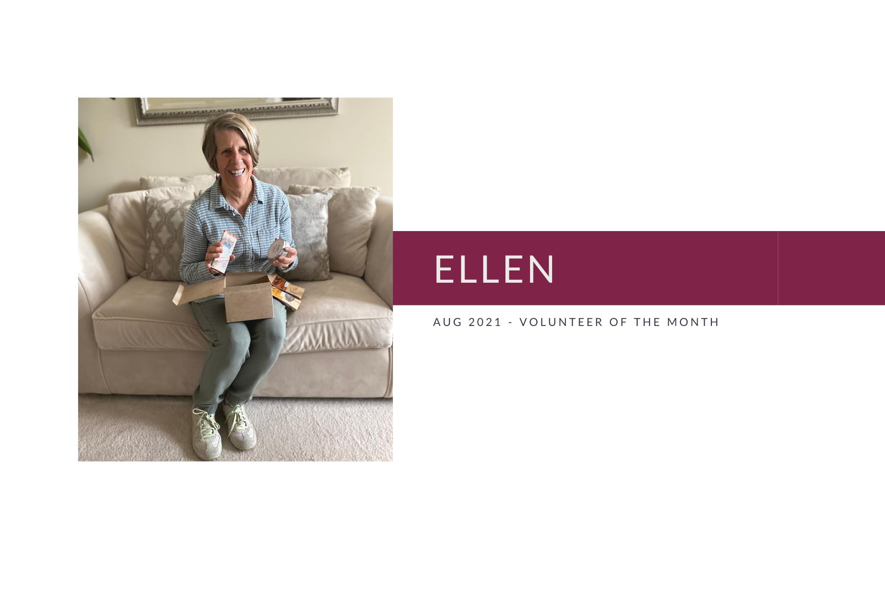 Meet Ellen: Volunteer of the Month (August 2021)