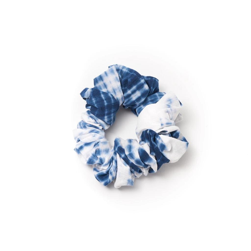 Matr Boomie Shibori Cotton Scrunchie