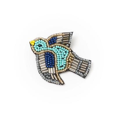 Matr Boomie Bala Mani Bird Brooch