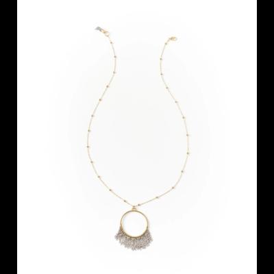 Matr Boomie Bhavani Fringe Pendant Necklace