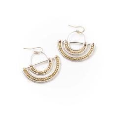 Matr Boomie Bhavani Medallion Earrings