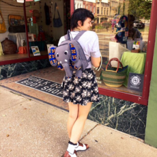 Creation Hive Elephant Backpack