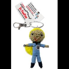 Kamibashi Dr. PawPaw Long Hair String Doll Keychain